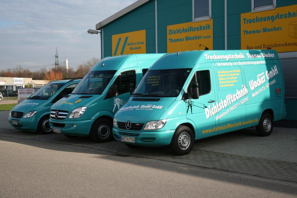 Firmen Fahrzeuge