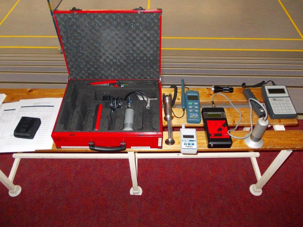 Raumfeuchtemessgerät / Mikrowellenmessgerät